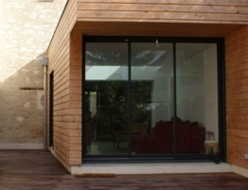 Maison moderne :le bois a tout bon !