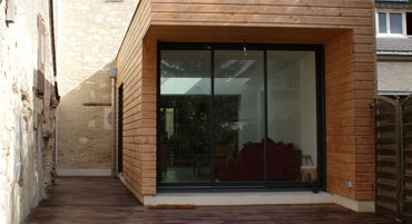 Vente en ligne de structures ossature bois en kit for Petite extension bois