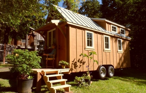 les diff rentes possibilit s de la tiny house petite maison bois. Black Bedroom Furniture Sets. Home Design Ideas