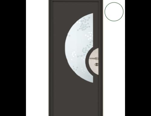 Une porte d'entrée aluminium pour votre maison à ossature bois ?