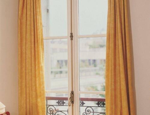 Fenêtre bois à l'ancienne
