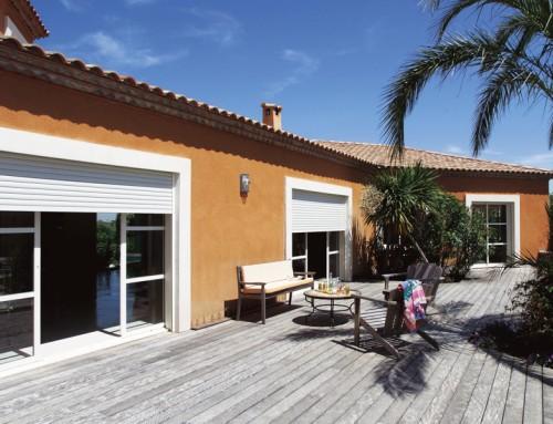pourquoi une baie vitr e galandage rt2012 pour votre maison en bois petite maison bois. Black Bedroom Furniture Sets. Home Design Ideas