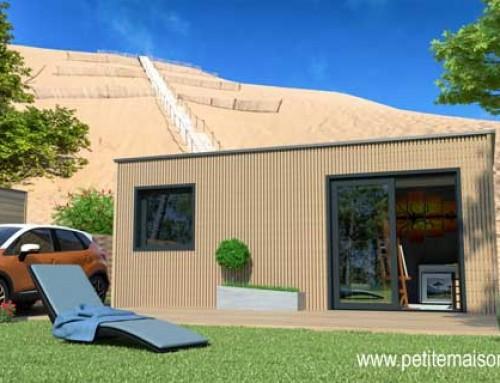 Vision 3D, partenaire de petite maison bois