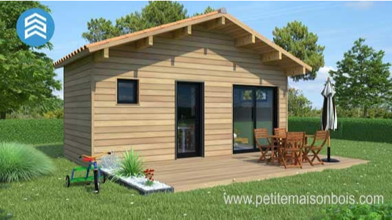 pourquoi installer un chalet bois en kit dans votre jardin. Black Bedroom Furniture Sets. Home Design Ideas