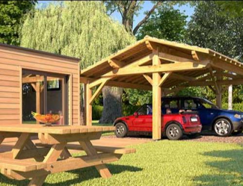 Le carport en bois