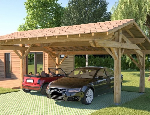 Le point sur le carport en bois