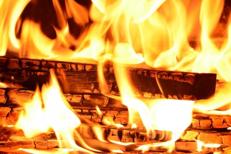 bois et incendie