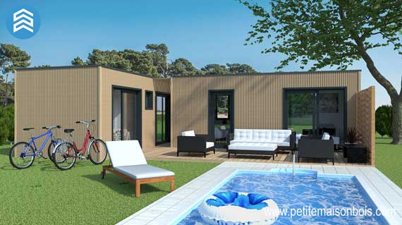 Un studio de jardin pour h berger un senior petite maison bois - Petite maison en bois pour jardin ...