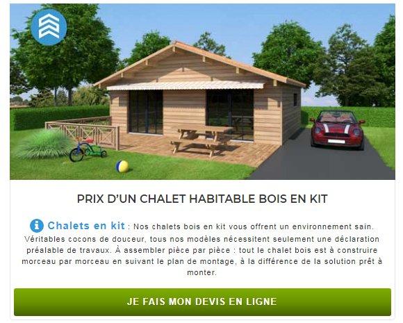 pourquoi construire un chalet bois petite maison bois. Black Bedroom Furniture Sets. Home Design Ideas
