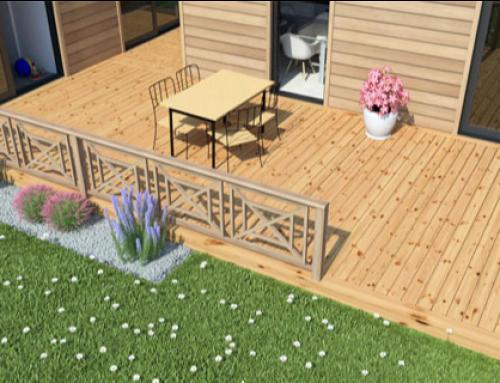 Décorer sa terrasse en bois