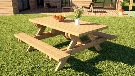 peindre une table en bois avec une peinture cologique petite maison bois. Black Bedroom Furniture Sets. Home Design Ideas