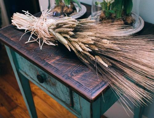 Un chalet en bois aux allures campagnardes