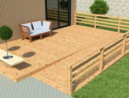 extension bois en kit pas cher rapide installer et cologique. Black Bedroom Furniture Sets. Home Design Ideas