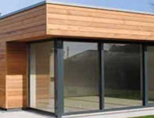 Bureau de jardin en bois et télétravail