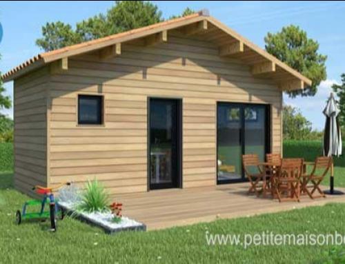 Petite maison à ossature bois : une solution à moindre coût