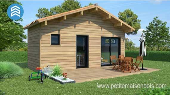 petite maison à ossature bois