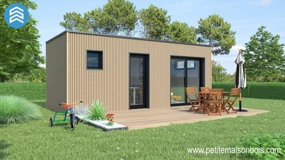 un studio de jardin bois pour de multiples usages petite maison bois