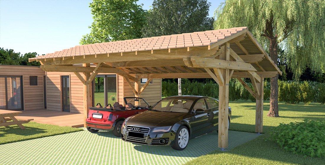 devis abri de garage pas cher petite maison bois. Black Bedroom Furniture Sets. Home Design Ideas