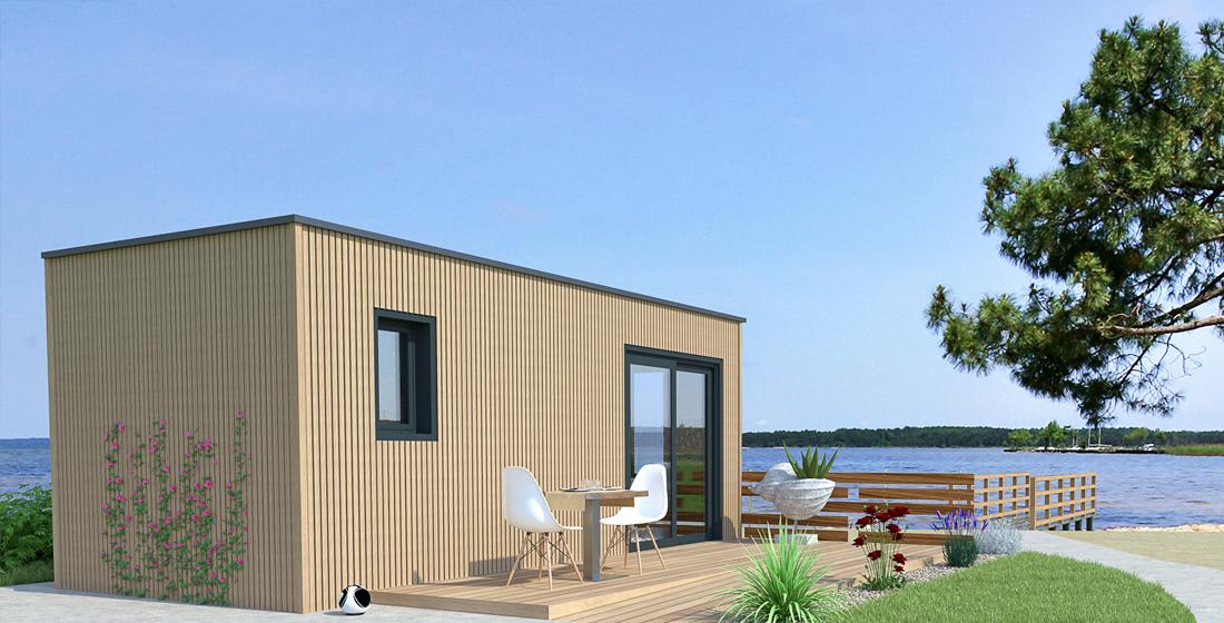 Un bureau de jardin pour travailler domicile petite maison bois - Bureau de jardin prix ...