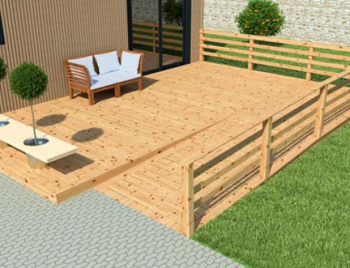 Acheter une terrasse en bois PMR