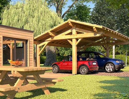 Commander un abri de garage en bois