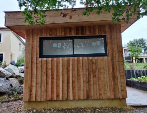 La fenêtre alu coulissante sur une ossature bois