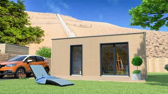 bureau de jardin et permis de construire